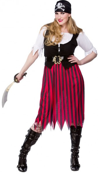 Piratenbraut Bianca Damenkostüm