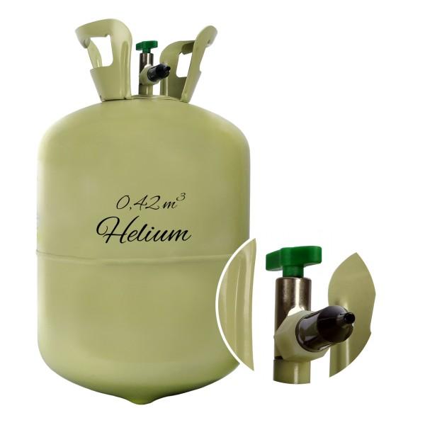 Helium Einwegflasche 0,42m³