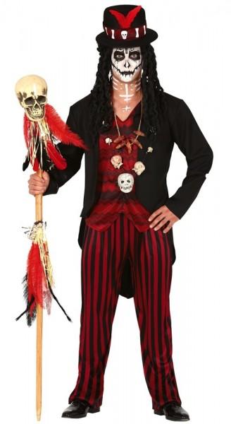 Voodoo Beschwörer Herrenkostüm