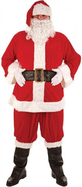 Disfraz de Papá Noel 8 piezas