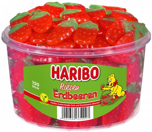 150 Haribo Erdbeeren 1350g