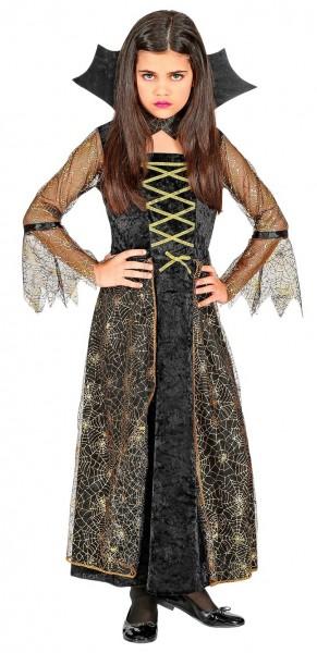 Koningin van spinnen jurk voor meisjes