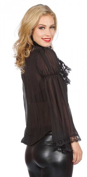 Blusa barroca para mujer negra