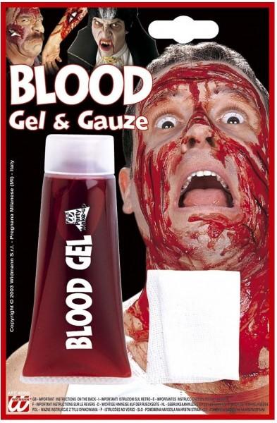 Tubetto sangue finto Halloween Horror 42g