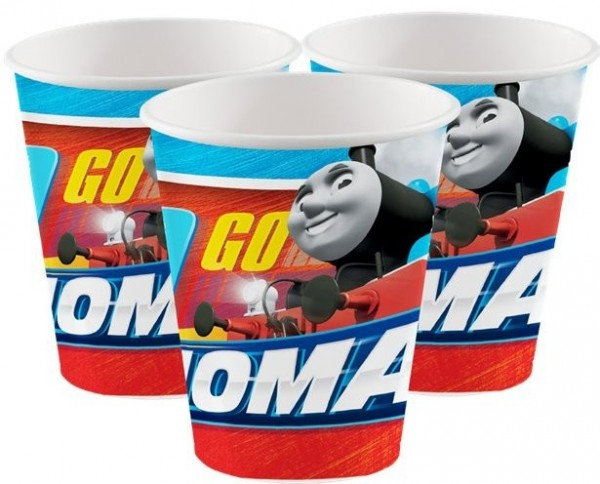 8 Thomas Fast Friends Pappbecher 266ml