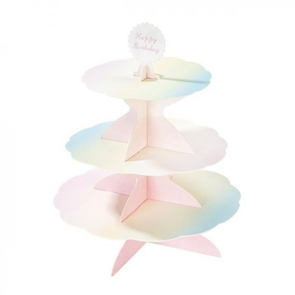 Magical 3-tier cake stand 37.5cm