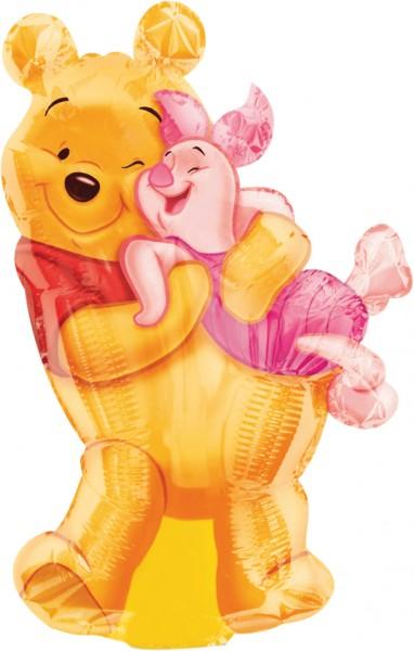 Winnie Pooh & Ferkel Mini-Folienballon