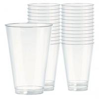 40 Transparente Longdrink Gläser 414ml