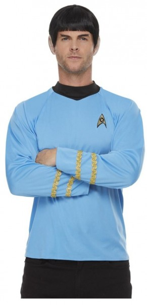 Star Trek Uniform Shirt für Herren blau