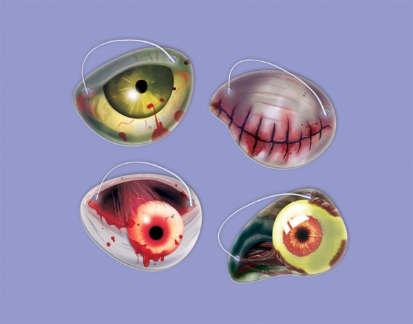 Gruselige Zombie Augenklappe