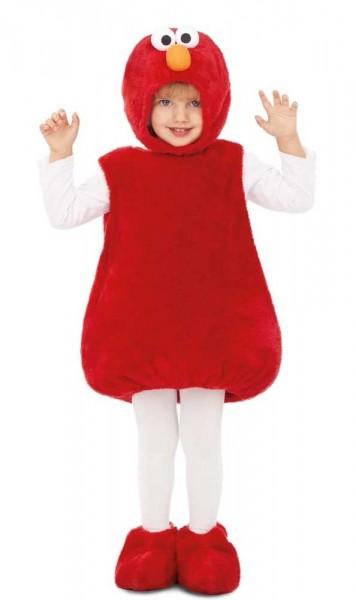 Elmo Lizenz Kinderkostüm