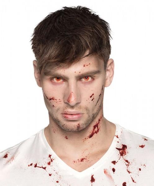 Lenti a contatto 3 mesi Crimson Halloween