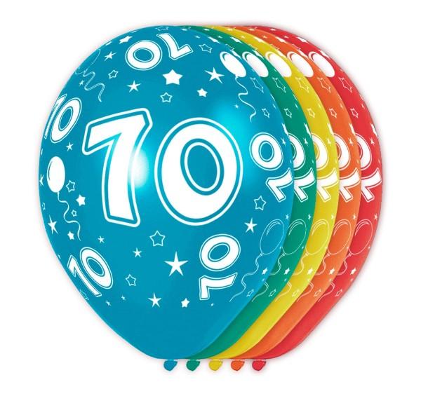 5 Ballons Big 70 30cm