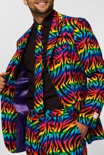 OppoSuits Partyanzug Wild Rainbow