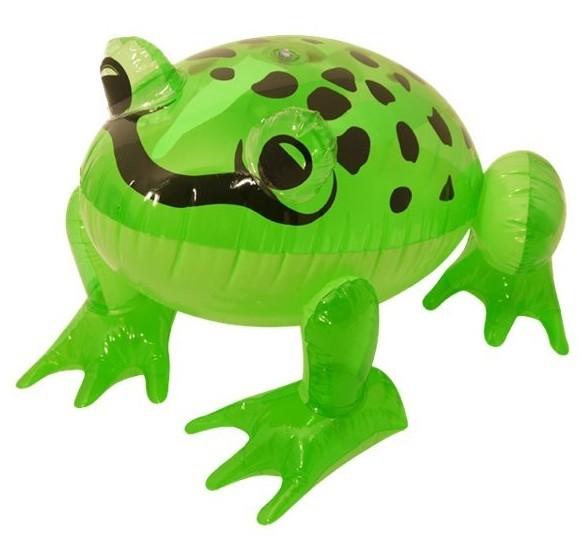 Aufblasbarer Frosch Freddy 39cm