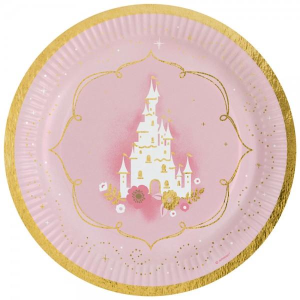 8 piatti Princess for a Day 23cm