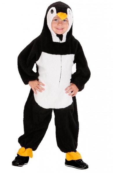 Plüschiger Pinguin Ganzkörperkostüm