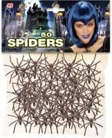 Spinnen Spektakel Streudeko 50-teilig