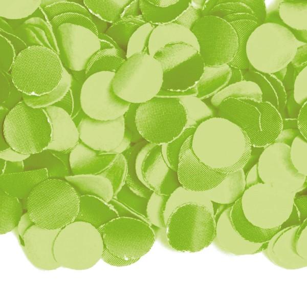 Papierowe konfetti w kolorze limonkowej zieleni 100g