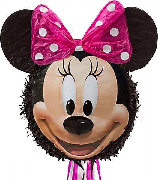 Zug-Pinata happy Minnie Maus