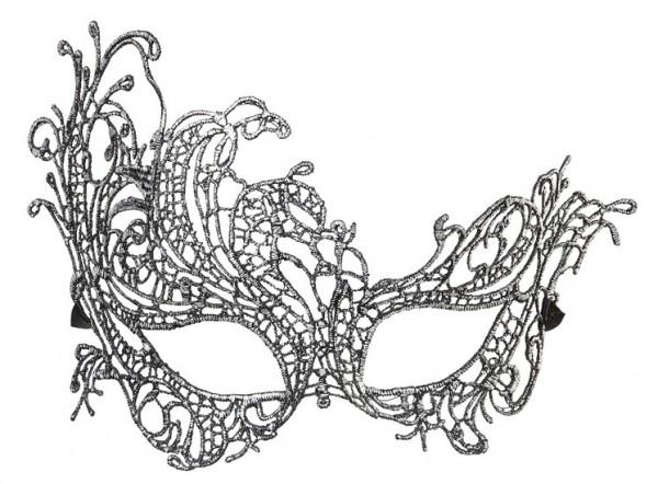 Verzierte Venezianische Augenmaske