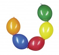 10 Bunte Girlanden Luftballons Breslau 30cm