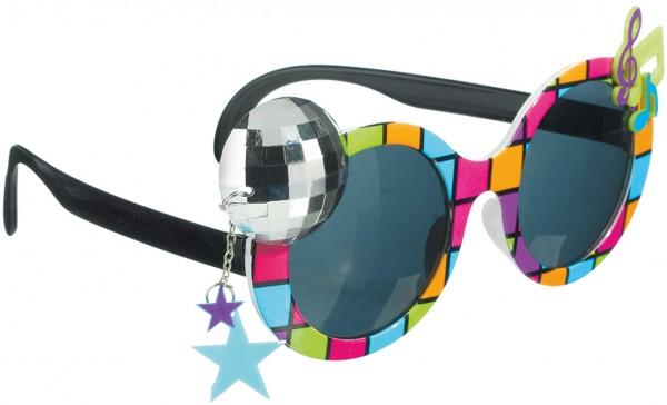 70er Jahre Disco Fever Brille Getönt