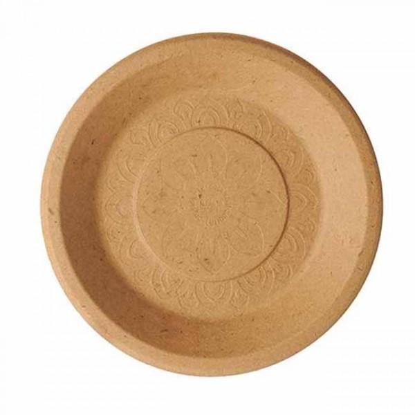 50 piatti per feste da rifiuti agricoli 25,5 cm