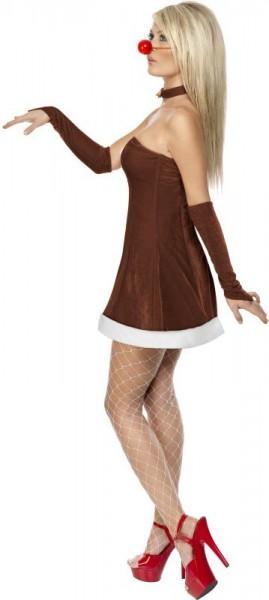 Disfraz de reno sexy deluxe