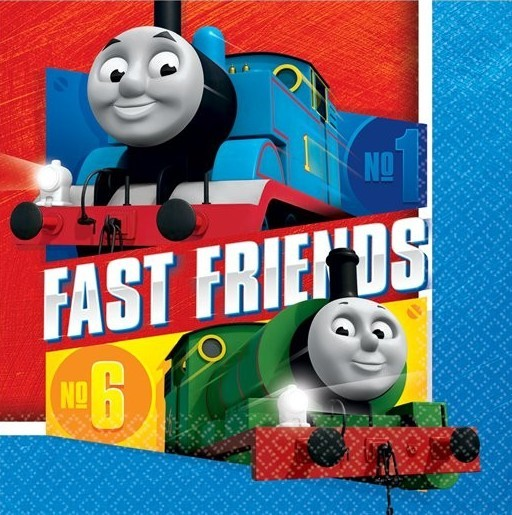 16 Thomas Fast Friends Servietten 33cm