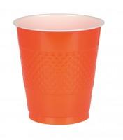 10 Party Buffet Becher Orange 355ml