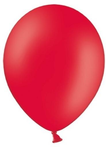 50 ballons étoiles rouges 30cm