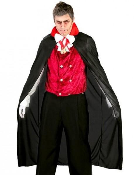 Black vampire cape Theodor 1.4m
