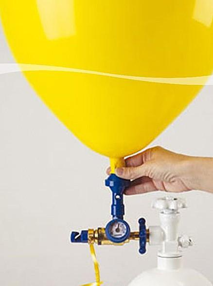 Ballonaufblasregler mit Manometer