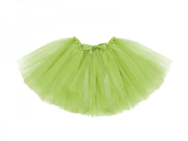 Schönes Tutu Grün mit gepunkteter Schleife