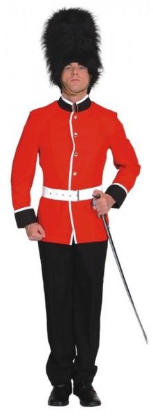 Englisches Soldatengarde Herrenkostüm