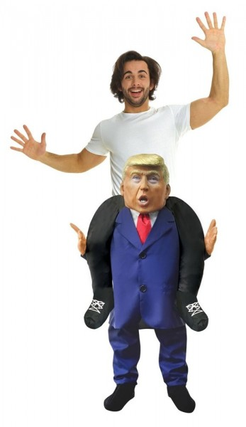 Piggyback Mr President costume