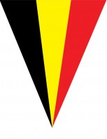 Belgien Wimpelkette 5m
