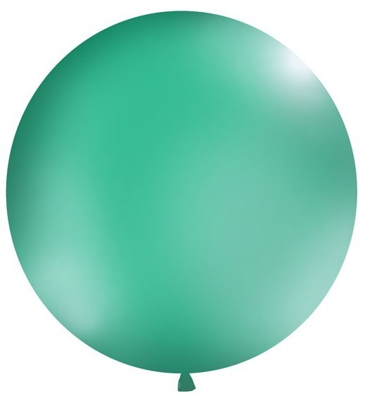 Runder Riesenballon aquamarin100cm 1