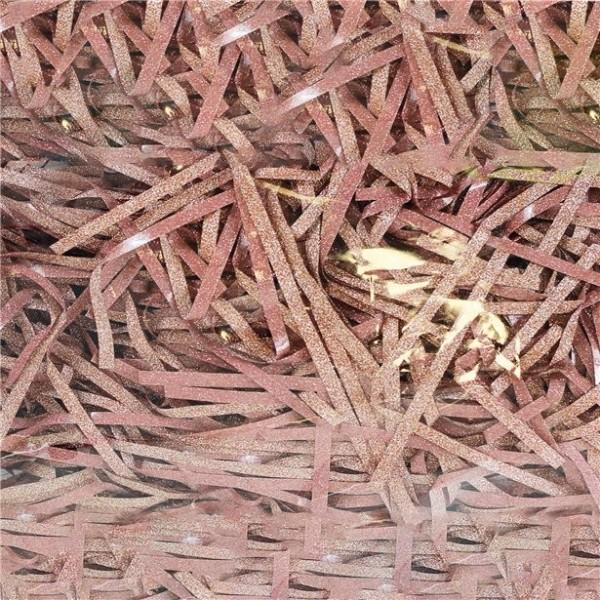 Konfetti w paski w kolorze różowego złota