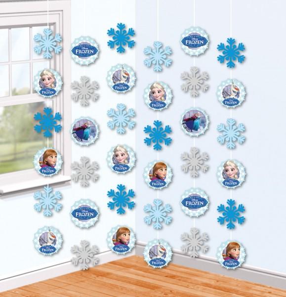 6 Frozen Eiszauber Hänger 2m