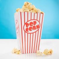 10 Kinoabend Popcorn Snack Boxen 15 x 11cm