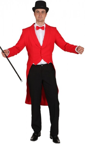 Roter Herrenfrack Daniel