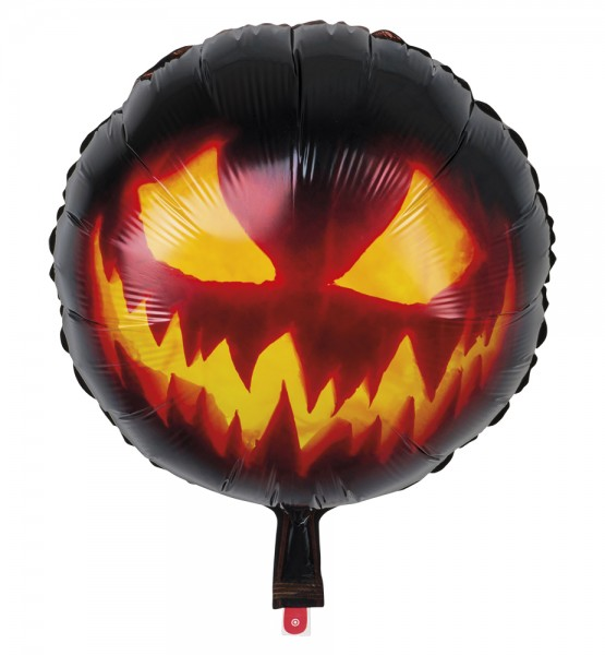 Höllenkürbis Folienballon 45cm
