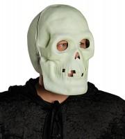 Leuchtende Totenkopf Maske