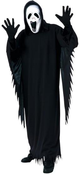 Scream ghost costume