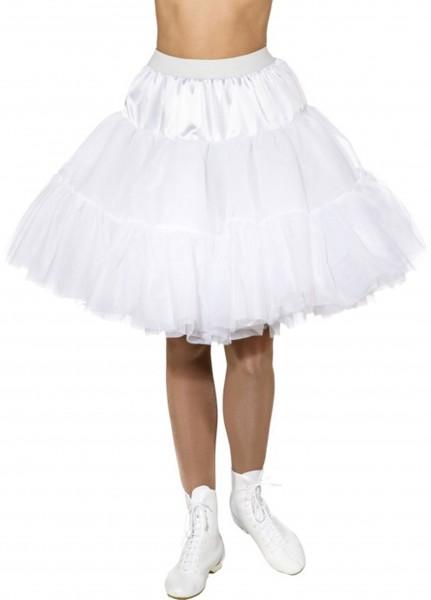 Weißer Petticoat Malou Für Damen