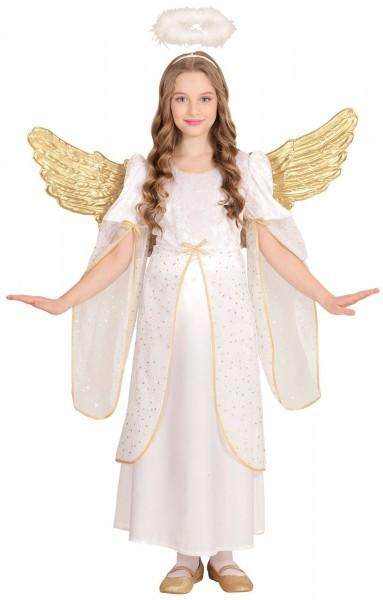 Costume angioletto oro Emilia