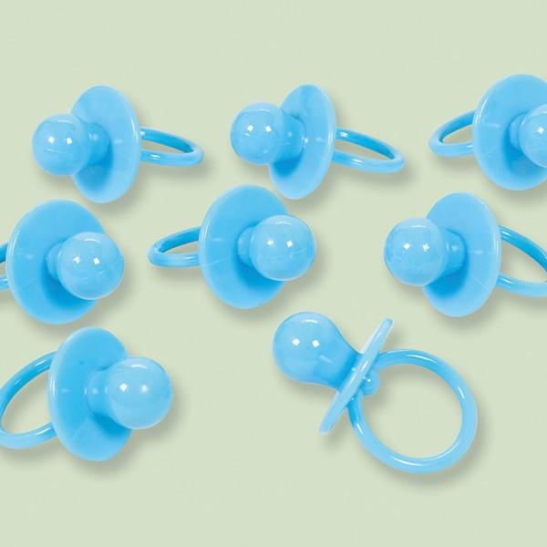8 sucettes éparses bleues