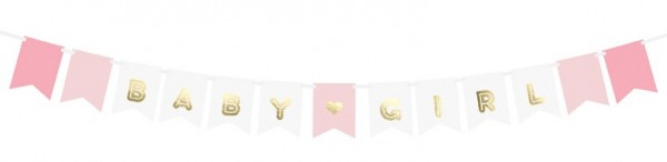 DIY Baby Girl Girlande 1,6m